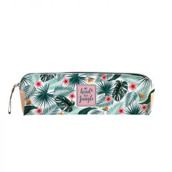 jungle themed stationery - tropical pencil case
