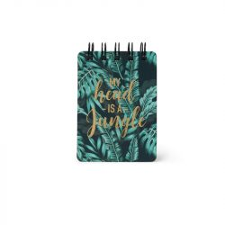 tropical jungle small notebooks - online notebooks ringbound