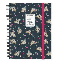 Koala sprarl A5 notebooks - legami online stocksits