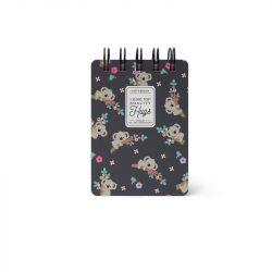 koala notebook range by legami - online small ringbound notebook