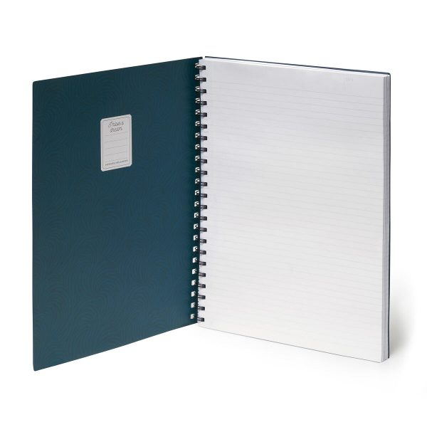 3 in 1 notebooks by legami - the tropical leaves one