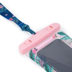 waterproof pouches for smartphones -tropical designs