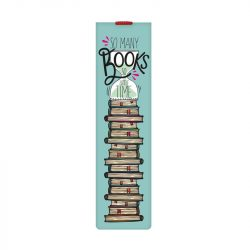 so many books to read - fun online bookmarks