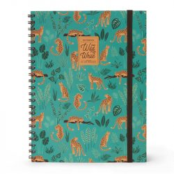 wild cats notebooks - cheetah design