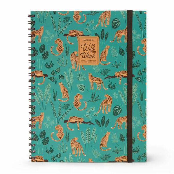 wild cats notebooks - cheetah design