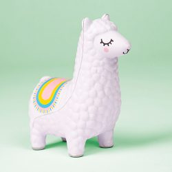 fun stress balls squeezy things - llama stress ball