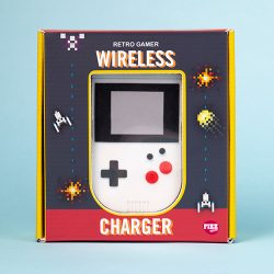 old style nintendo gamer wireless charger - gaming gifts - nintendo lover gift ideas -