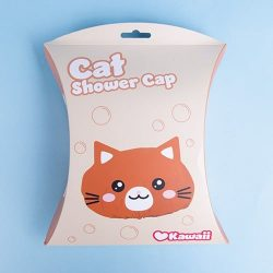 kitten shower cap - silly kawaii gifts onlnie - where can I get a silly shower cap