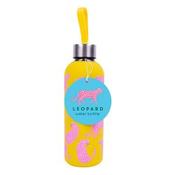 leopard drinking bottle - fun and bright gifts online