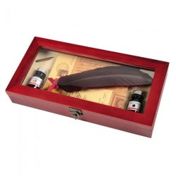 feather quill writing set by Herbin
