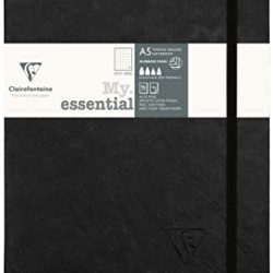online black bullet journals A5 - Clairefonatine UK stockists