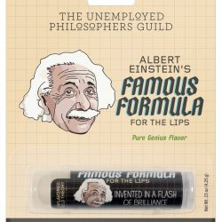 gifts for men - stocking filler ideas - Einstein gifts lip balm by Unempolyed Philosophy guild