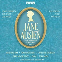 jane austen bbc dramatisation cd with david tenant and bendict cumberbatch - jane austen audiobooks