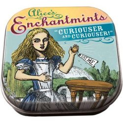 alice in wodnerland gifts ideas - alice in wonderland enchant-mints by Unemployed philosophy guils UK stockists