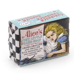 alice in wonderland soap - great literary gift ideas