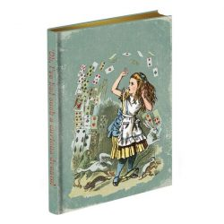 costume rooms - alice in wonderland - notebook - journal