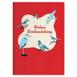 pocket sized birdwatching notebook - fun stationery online at The Costume Rooms in Bude Cornwall UK