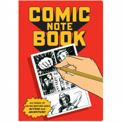 comic notebook by unemployed philosophy guild at The Costume Rooms