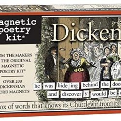 dickens fans gift ideas - Dickens Magnetic Poetry Kits UK stockists - The Costume Rooms