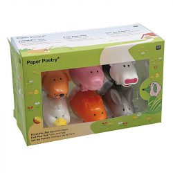 farm animal clutch felt tip pens - can you get colouring pens in animal shapes
