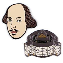 shakespeare gift ideas and paraphenalia - can you get shakespeare badges