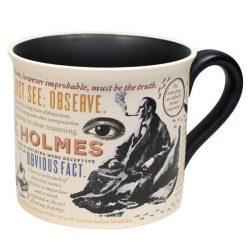 sherlock holmes quotes mug by Unemployed Philosophy guild - Uk online stockists and shop