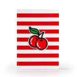 A5 cherry notebooks online - an independant stationery with cherry stationery