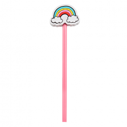 rainbow stationery pencils online - funky independant stationery shops online