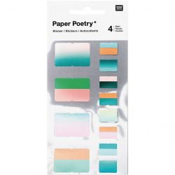 paper poetry, stationery, index stickers