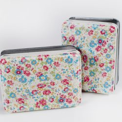 costume rooms - floral tin