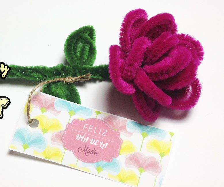 pipe cleaner rose flower crafts - online pipecleaner ideas