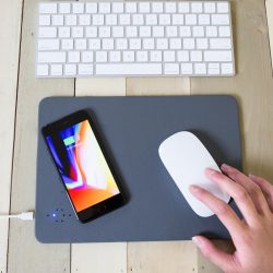 costume rooms - kikkerland - office - business - mouse mat - wireless charger