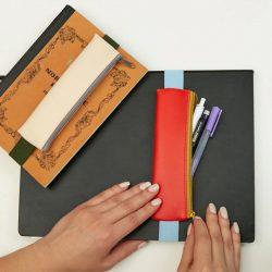kikkerland - pencil pouch -