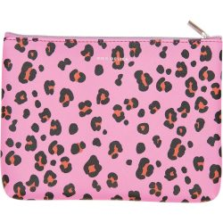 leopard print - rico design - make up - pencil case - zip bag