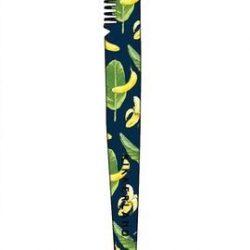banana fun tweezer with a brow tool
