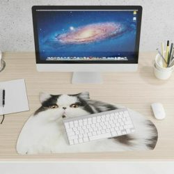 fat cat mouse mat - fun mousemats online