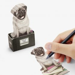 can you get sticky notes in the shape of pugs - best shops in cornwall, bude