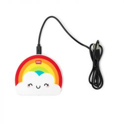 fun rainbow wireless charger by Legami - Uk shops online