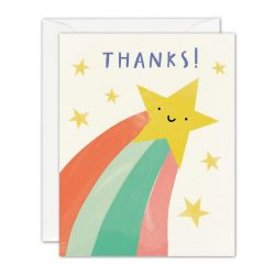 costume rooms - shooting star - notecards