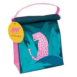 leopard pink lunch bags online - tropical gifts online